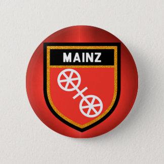 Bóton Redondo 5.08cm Bandeira de Mainz