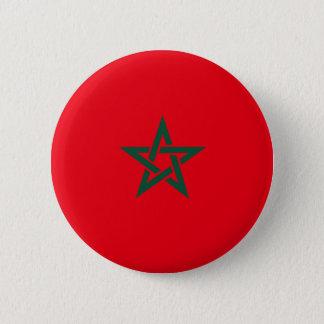 Bóton Redondo 5.08cm Bandeira de Marrocos