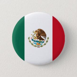 Bóton Redondo 5.08cm Bandeira de México