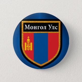 Bóton Redondo 5.08cm Bandeira de Mongolia