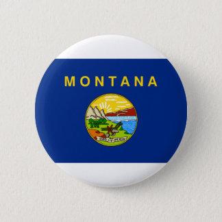Bóton Redondo 5.08cm Bandeira de Montana