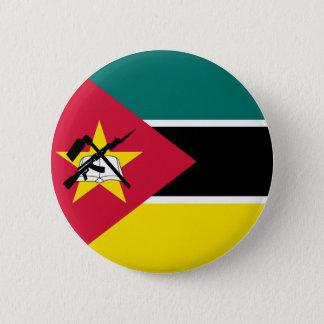 Bóton Redondo 5.08cm Bandeira de Mozambique