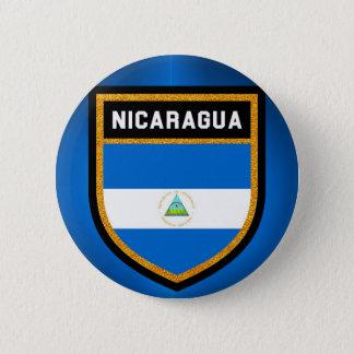 Bóton Redondo 5.08cm Bandeira de Nicarágua