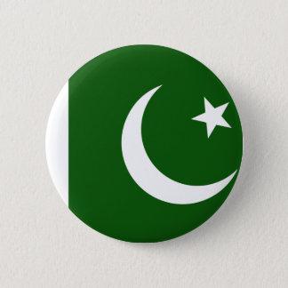 Bóton Redondo 5.08cm Bandeira de Paquistão