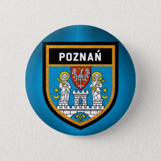 Bóton Redondo 5.08cm Bandeira de Poznań