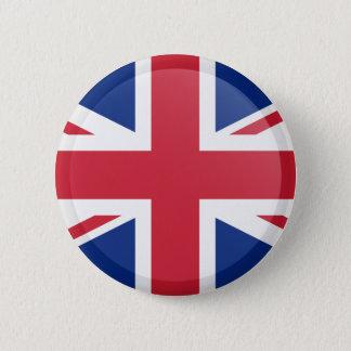 Bóton Redondo 5.08cm Bandeira de Reino Unido