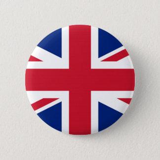 Bóton Redondo 5.08cm Bandeira de Reino Unido Reino Unido