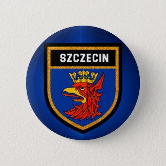 Bóton Redondo 5.08cm Bandeira de Szczecin