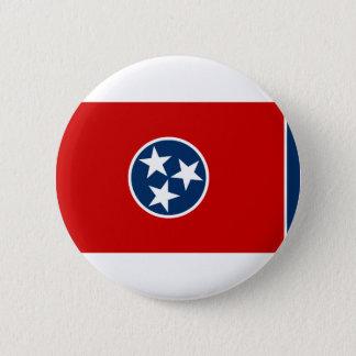 Bóton Redondo 5.08cm Bandeira de Tennessee