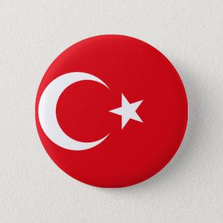 Bóton Redondo 5.08cm Bandeira de Turquia - bandeira turca - bayrağı de