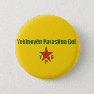 Bóton Redondo 5.08cm Bandeira de YPG