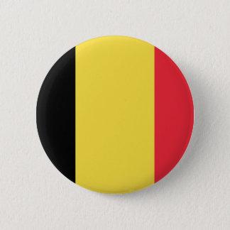 Bóton Redondo 5.08cm Bandeira do botão de Bélgica