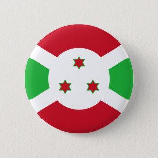 Bóton Redondo 5.08cm Bandeira do botão de Burundi