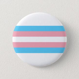 Bóton Redondo 5.08cm Bandeira do orgulho do Transgender - arco-íris de