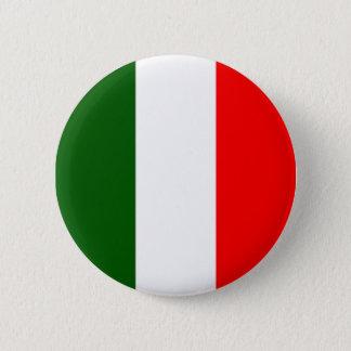 Bóton Redondo 5.08cm Bandeira italiana