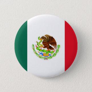 Bóton Redondo 5.08cm Bandeira mexicana