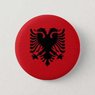 Bóton Redondo 5.08cm Bandeira nacional de Albânia