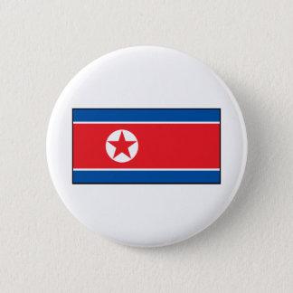 Bóton Redondo 5.08cm Bandeira norte-coreana
