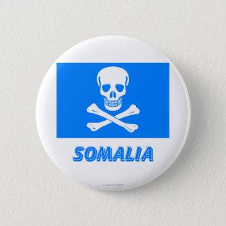 Bóton Redondo 5.08cm Bandeira nova de Somália (esta é uma piada!)