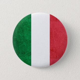 Bóton Redondo 5.08cm Bandeira para o botão de Italia