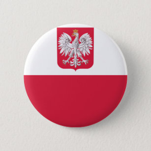 02255d2b0f Bóton Redondo 5.08cm Bandeira polonesa