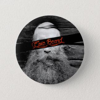 Bóton Redondo 5.08cm Barba épico