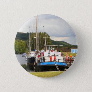 Bóton Redondo 5.08cm Barca do bar da pensão de Eagle, Scotland 2