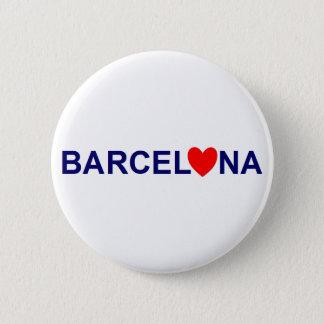 Bóton Redondo 5.08cm Barcelona love