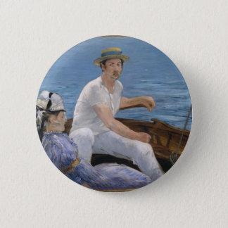 Bóton Redondo 5.08cm Barco - Édouard Manet