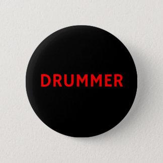 Bóton Redondo 5.08cm Baterista - crachá do Pin da banda/botão da música