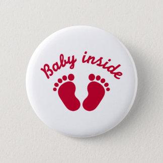 Bóton Redondo 5.08cm Bebê dentro dos pés