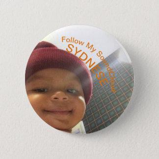 Bóton Redondo 5.08cm Bebê SoundCloud