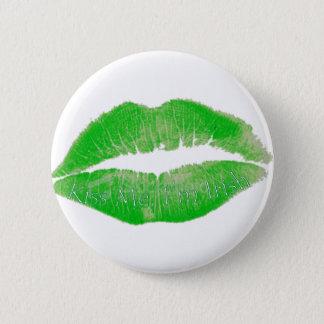 Bóton Redondo 5.08cm Beije-me, mim são irlandês