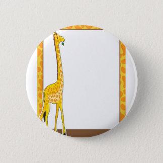 Bóton Redondo 5.08cm Beira do girafa