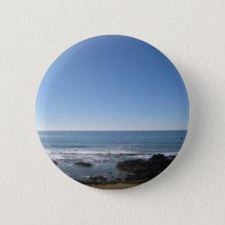 Bóton Redondo 5.08cm Beira-mar da praia de Califórnia