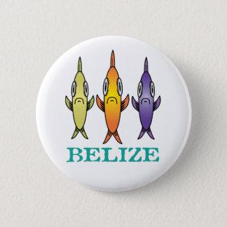 Bóton Redondo 5.08cm Belize 3-Fishes