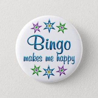 Bóton Redondo 5.08cm Bingo feliz