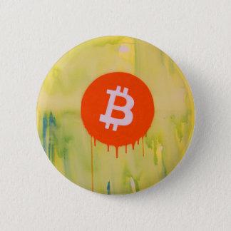 Bóton Redondo 5.08cm Bitcoin