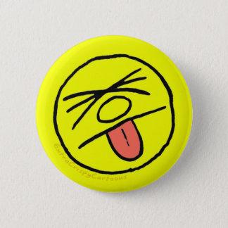 """Bóton Redondo 5.08cm """"Blech friável extra enfrenta"""" o pino do logotipo"""
