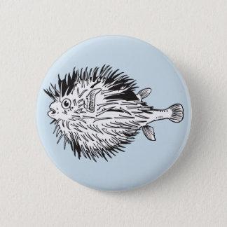 Bóton Redondo 5.08cm blowfish do porcupinefish aka