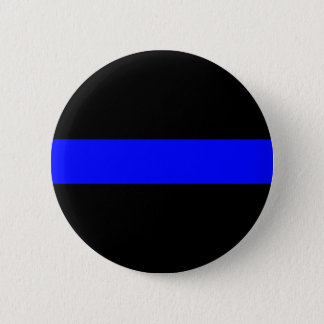 Bóton Redondo 5.08cm Blue Line fino abotoa-se