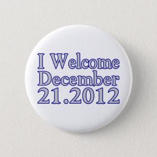 Bóton Redondo 5.08cm Boa vinda 2012