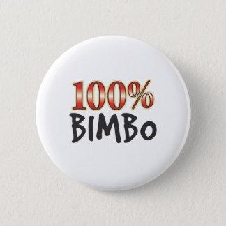 Bóton Redondo 5.08cm Boba 100 por cento