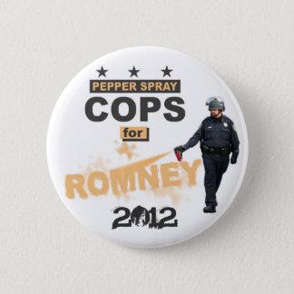 Bóton Redondo 5.08cm Bobinas do spray de pimenta para Romney 2012