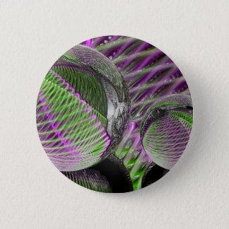 Bóton Redondo 5.08cm Bola de cristal no plástico