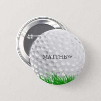 Bóton Redondo 5.08cm Bola de golfe na grama