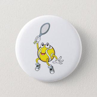 Bóton Redondo 5.08cm Bola de tênis legal que guardara a raquete