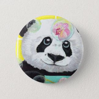 Bóton Redondo 5.08cm Bolhas da panda