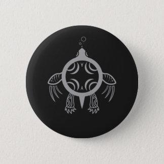 Bóton Redondo 5.08cm Bolhas da tartaruga de mar