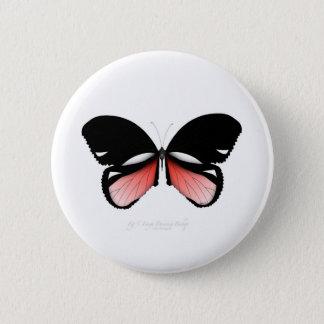 Bóton Redondo 5.08cm borboleta do vermelho do figo 5 por fernandes tony